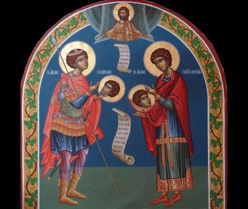 Sts. George and Panteleimon the Great Martyrs