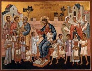 Christblessinghthechildren